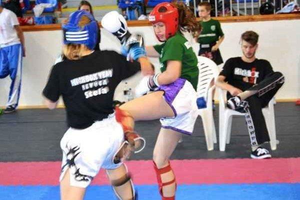 Dominika Gumanová. Triumfovala medzi dievčatami do 50 kg.