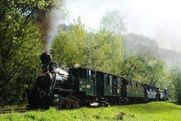 Jednou z pravidelných atrakcií Dňa mesta Košice je detská železnica a parná lokomotíva Katka. Cestujúcich vozí na Alpínku.