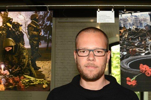 Victor Breiner. Z fotenia Majdanu sa stal osobný projekt.