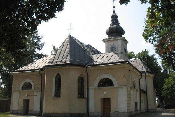 Rímskokatolícky kostol v Haniske.