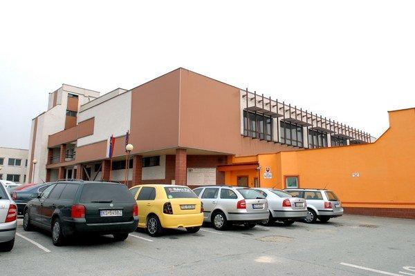Väznica v Šaci. Je naplnená na 96 percent.