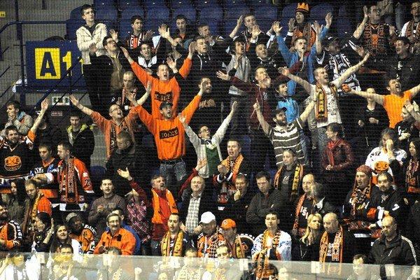 Fanklub HC Košice. Bude chýbať aj v piatok.