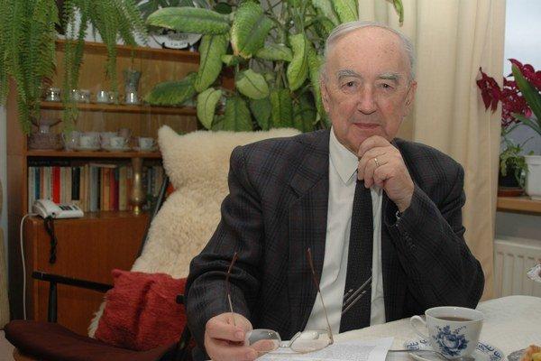 Ladislav Fričovský. Odišiel vo veku nedožitých 85 rokov.