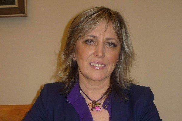 Iveta Vasková. Z prodekanky sa stane dekankou.