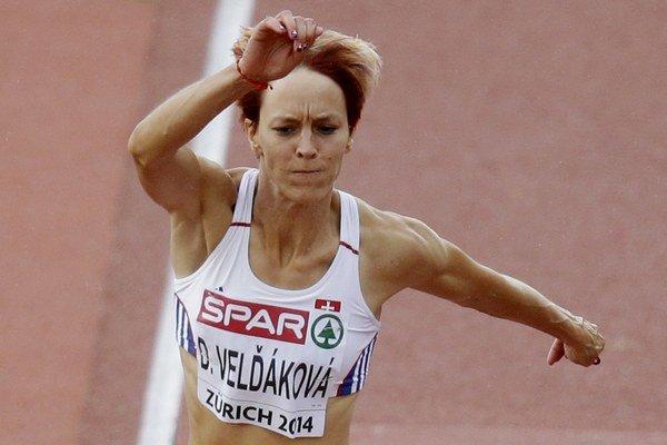 Trojskokanka Dana Velďáková.