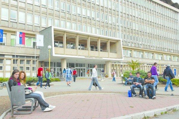 Technická univerzita v Košiciach. Je šiesta najžiadanejšia na Slovensku.