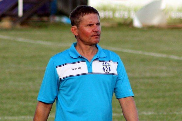 Tréner Roman Berta.