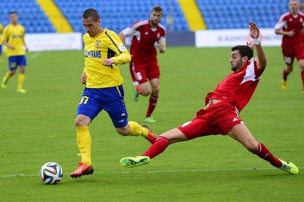 Košický gól strelil Ján Novák (v žltom).