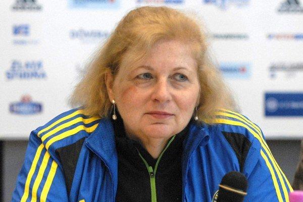 Joann E. Flaminio. Prvá žena v čele Bostonského maratónu.