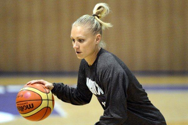 Austrálčanka v košických službách. Erin Phillipsová skompletizovala tohtosezónny káder basketbalistiek Good Angels.