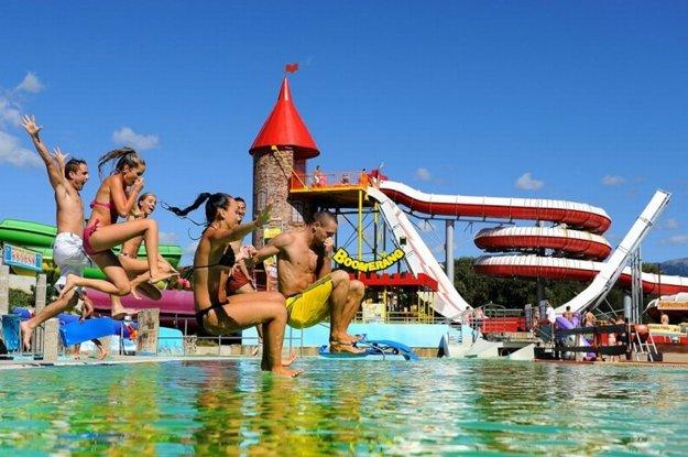 Tatralandia ponúka 14 bazénov.