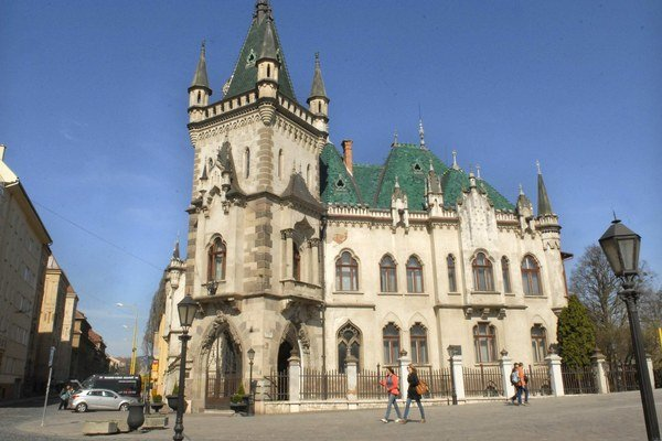 Jakabov palác bol na konci vojny sídlom prezidenta Beneša.