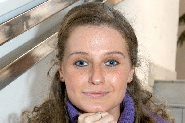 Lucia Knoteková. Z divadla odchádza po dvanástich rokoch.