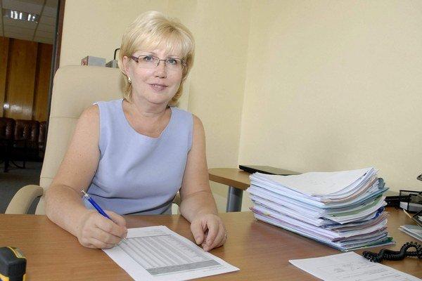 Margita Adamčíková. Minister ju ide odvolať, dôvody sa doteraz nedozvedela.