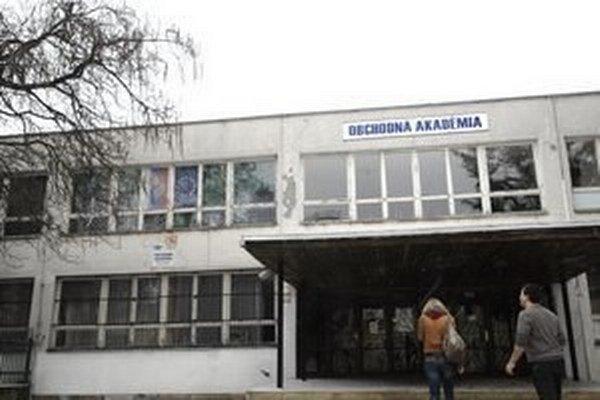 Obchodná akadémia.
