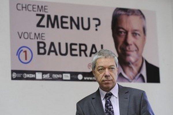 Rudolf Bauer je v politike 23 rokov.