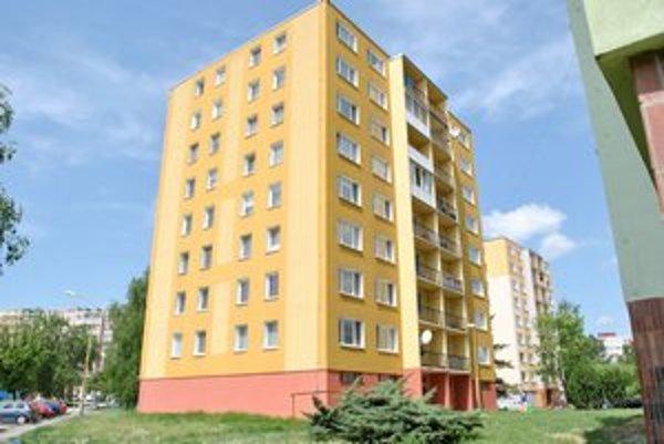 Michalovská 11. Tento blok je najlepšie rekonštruovaným domom na Slovensku.
