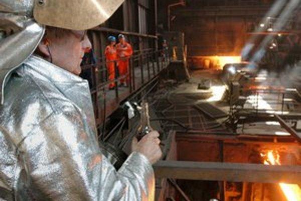 V programe je aj návšteva U. S. Steelu.