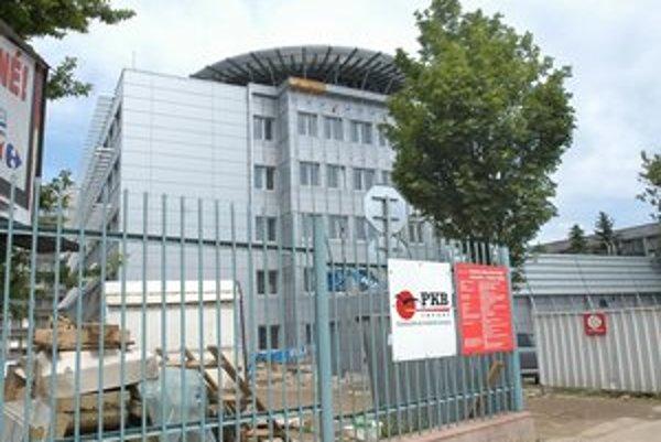 Nový monoblok. Jeho výstavba stojí 26,5 milióna eur.