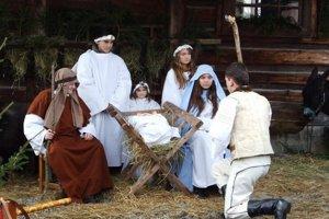 V skanzene v Pribyline zažijete tradičné liptovské Vianoce.