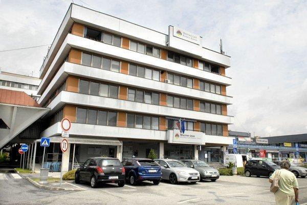 Miestny úrad na Terase. Priestory si tu prenajal moldavský honorárny konzul.