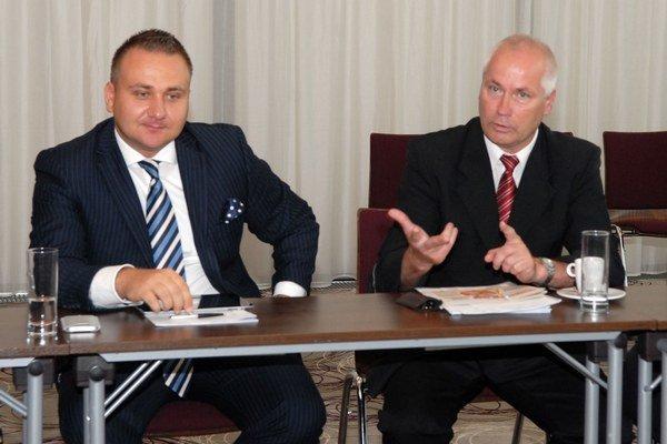 Martin Gduľa (zľava) a Miroslav Jac. Výsledky výskumu ich neprekvapili.