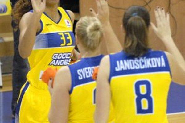 Majú to výborne rozohrané. Basketbalistky Good Angels vstúpia do play-off takmer isto s výhodou domácej palubovky.