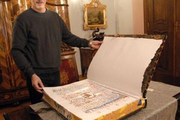 Unikátne dielo. František Cimbolák o ňom sníval dlho, tvorba mu zabrala šesť rokov.