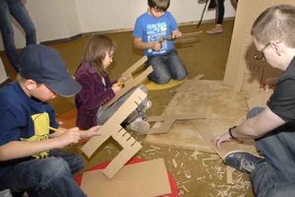 Tvorivé dielne. Deti môžu prázdniny stráviť aj netradične.