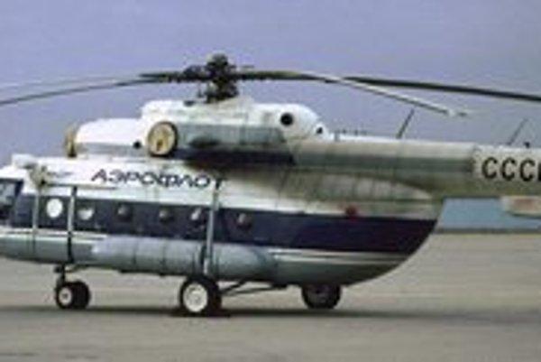 Mi-8 Salonnyj. V odhlučnenej kabíne mohol viezť 9 až 11 významných osobností.