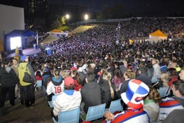 Hokejové mestečko. Vďaka novým akciám Severu obľúbený amfik po rokoch zas ožil.