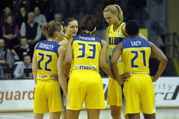 Vrchol sezóny. Od pondelka čaká basketbalistky Final Eight Euroligy.