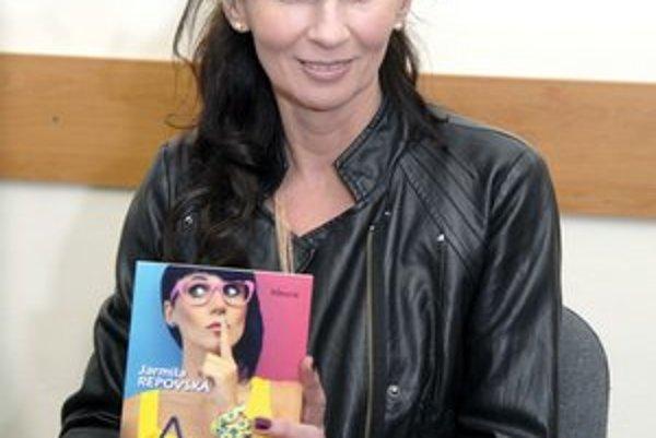 Jarmila Repovská. Knihy z jej pera oceňujú aj psychoterapeuti.