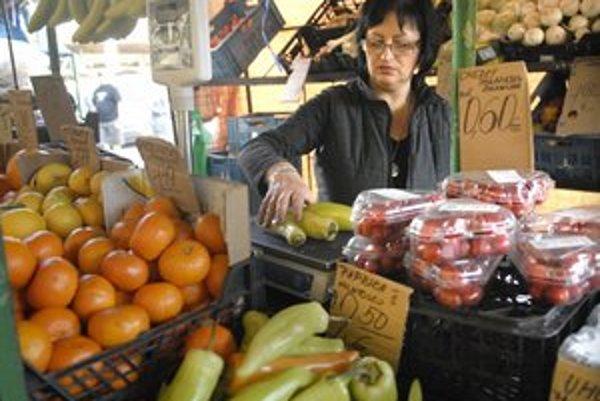 Zeleninové a ovocné trhy. Držia si lepšie ceny ako supermarkety.