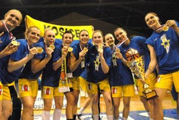 Majster. Tím Good Angels Košice získal desiate zlato po sebe.