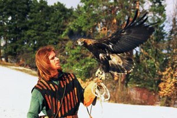 Spomienka z Bojníc z vystúpenia s orlom kráľovským.