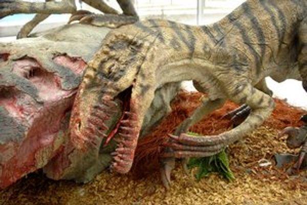 Vyhynuté zvieratá sa v lete nasťahujú do košického dinoparku v zoo.