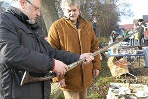 Zlatá puška. Krásna Hôrka vraj za ňu ponúka okolo 3-tisíc eur.
