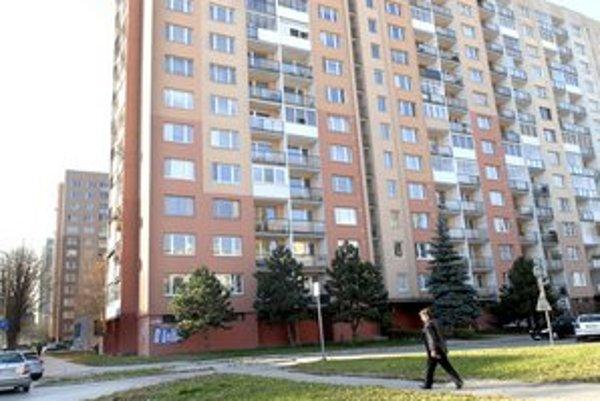 Bytovky na Palárikovej. Kvôli Auparku sú lukratívnejšie.