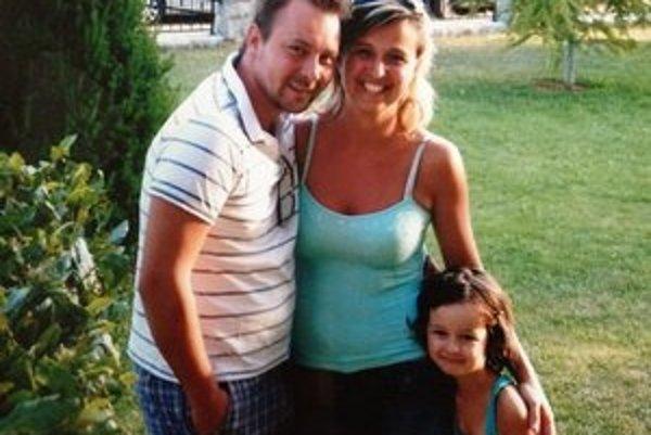 Peter Derevjaník so svojou rodinou.