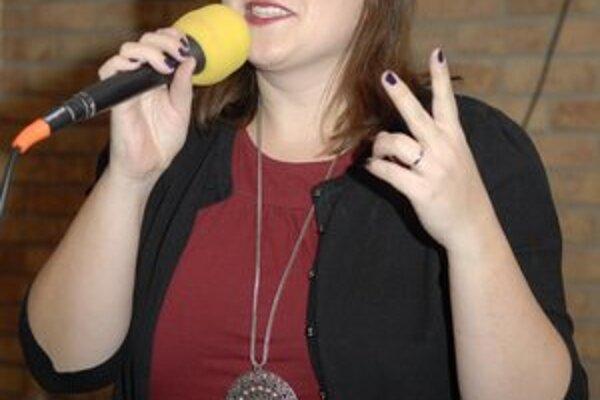 Katka Koščová. Košičania si dnes užijú jej vystúpenie s kapelou Neřež.