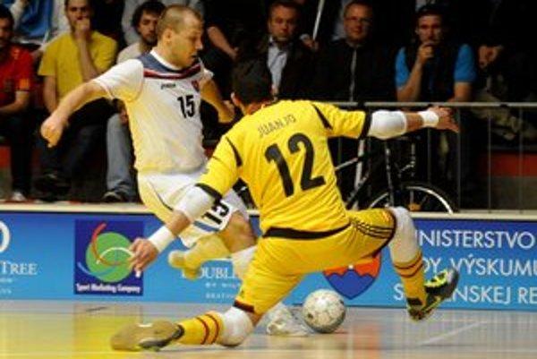 Peter Serbin v Bratislave strelil jeden z gólov RCS.