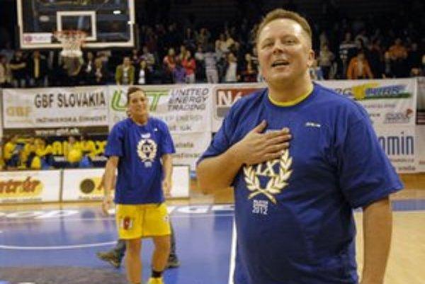 Daniel Jendrichovský. Generálny manažér klubu Good Angels Košice.