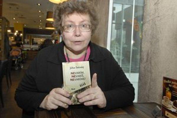 Viera Satinská predstavila v Košiciach knihu Nevarím, nevaríš, nevaríme.