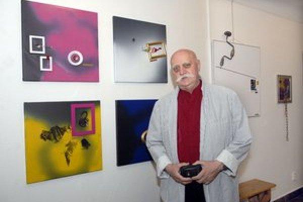Uznávaný poľský výtvarník. Krzystof Kedzierski prezentuje tvorbu prvýkrát v Košiciach.