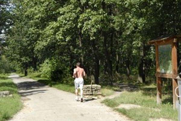 """Už nielen bežci a cyklisti. Začnú chodiť do lesoparku aj fanúšikovia """"posilky""""?"""