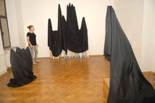 Ďalšia z cyklu výstav. Tentoraz prezentujú tvorbu taliansky a slovenský umelec.