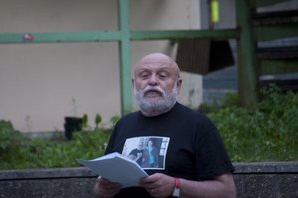 A. Goldflam čítal v Košiciach z jeho pripravovanej knihy.