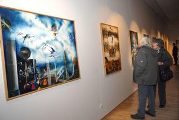 Malá retrospektíva. Výstavu diel Jána Hanáka nájdete v galérii do konca roka.
