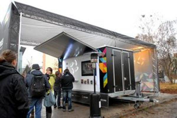Mobilné pódium chce pritiahnuť pozornosť na Košice v roku 2013.
